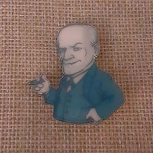 Sigmund Freud pin